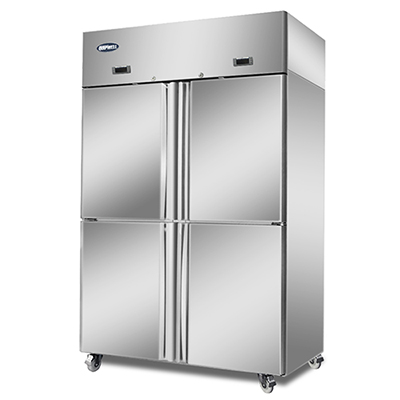 Commercial 4 Door Freezer/fridge 900l   B10b