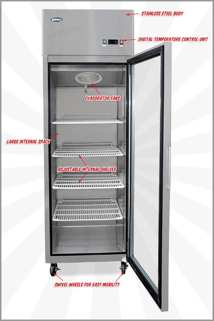 buy commercial commercial 1 door freezer tgc66 online at
